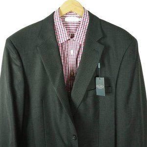 Pronto Uomo Platinum Mens Blazer Jacket Size 50R